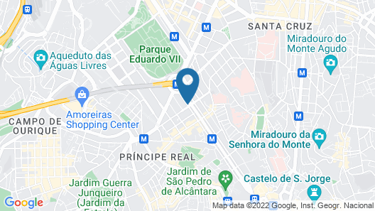 Marques De Pombal Hotel Map