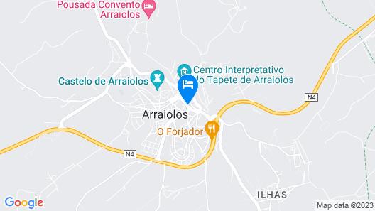 Casa Do Platano Map