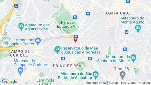 PortoBay Marquês Map