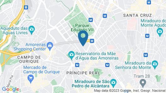Iberostar Selection Lisboa Map