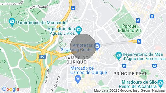 RH Aqueduto, Lisbon Duplex House Map