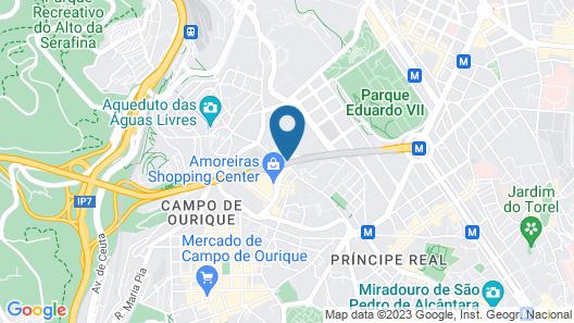 Dom Pedro Lisboa Map