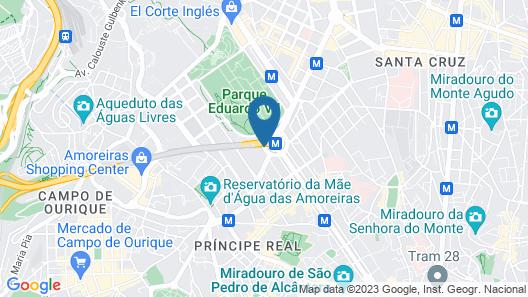 HF Fénix Lisboa Map