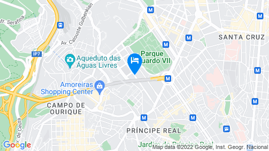 Four Seasons Hotel Ritz Lisbon Map