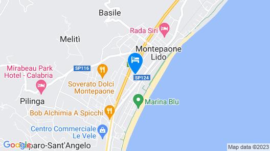 Hotel Residence Pegaso Map