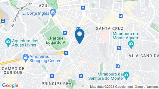 ibis Styles Lisboa Centro Liberdade NE  Map