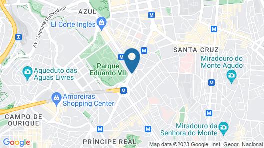 EPIC SANA Marques Hotel Map