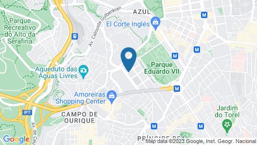 Lux Lisboa Park Map