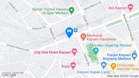 Lifos Otel Map