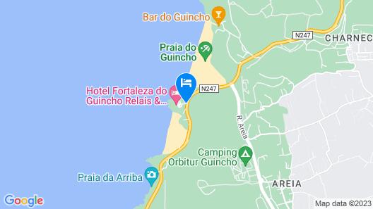 Hotel Fortaleza do Guincho Relais & Châteaux Map