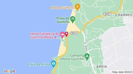 Estalagem Muchaxo Hotel Map