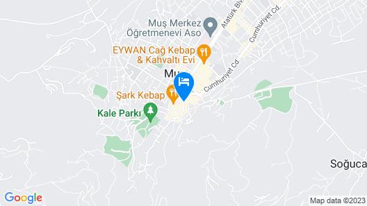 Firat Otel Map