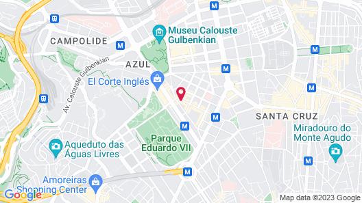 Hotel Real Palacio Map
