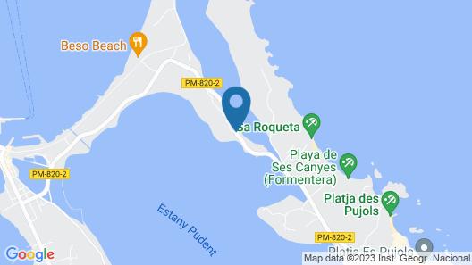 Cas Saliners - Villa Can Paya Map
