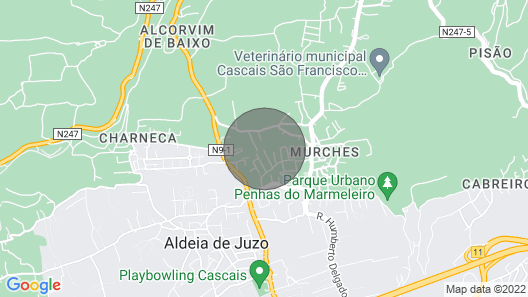Santo António's Guest House Map