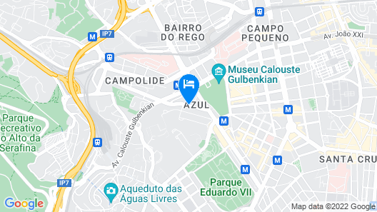 Real Residência - Touristic Apartments Map