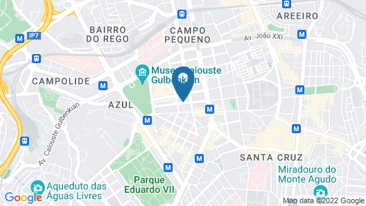 Holiday Inn Express Lisbon - Plaza Saldanha, an IHG Hotel Map