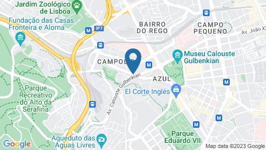 SANA Malhoa Hotel Map