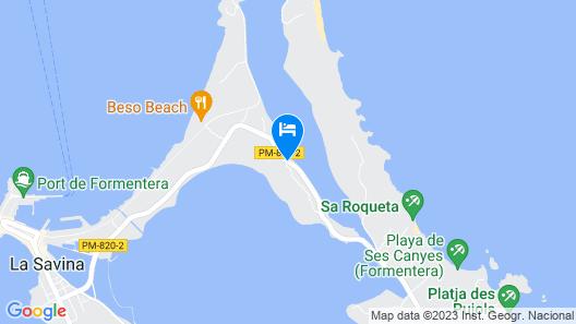 Cas Saliners - Sa Esglesia Map