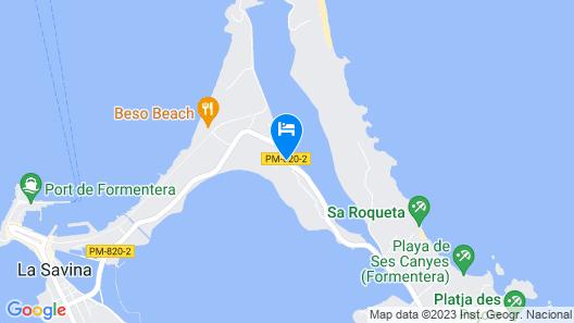 Cas Saliners - Can Toni Xumeu Map