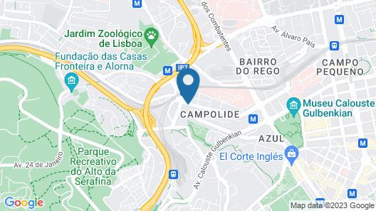 Corinthia Lisbon Map