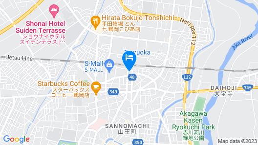 APA Hotel Tsuruoka-Ekimae Map
