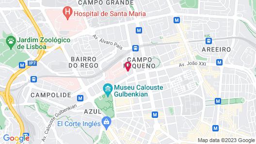 Holiday Inn Lisbon Continental, an IHG Hotel Map