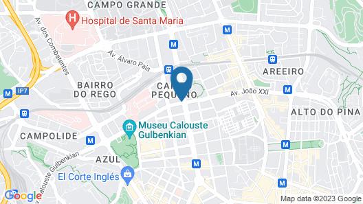Luzeiros Suites Map