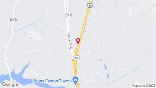 Days Inn by Wyndham Easton Map