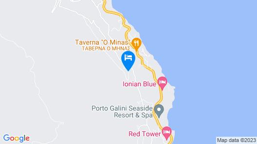 Ionian Heaven Villas Map