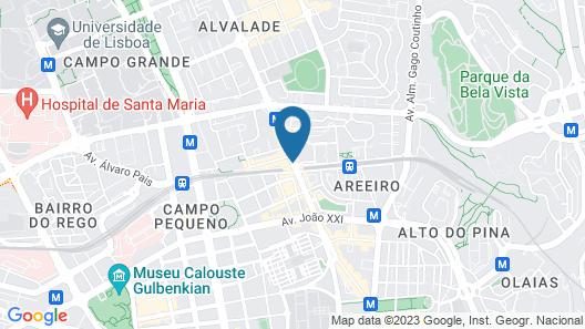 Hotel Roma Map