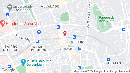 Lutecia Smart Design Hotel Map