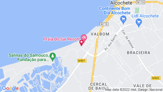 Praia do Sal Lisbon Resort Map