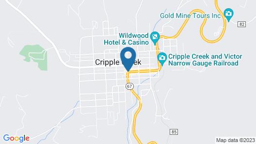 Bronco Billy's Casino & Hotel Map