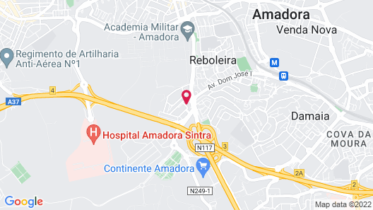 Apartment With 3 Bedrooms in Amadora Map
