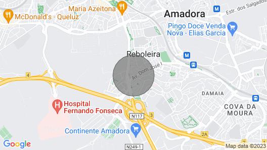 Apartment Lisbon - Reboleira Map