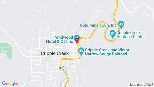 Wildwood Hotel and Casino Map