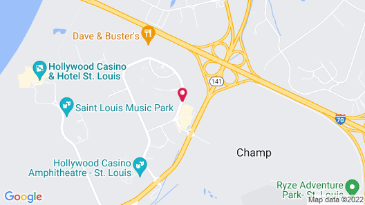 Homewood Suites by Hilton St. Louis Riverport - Airport West Map