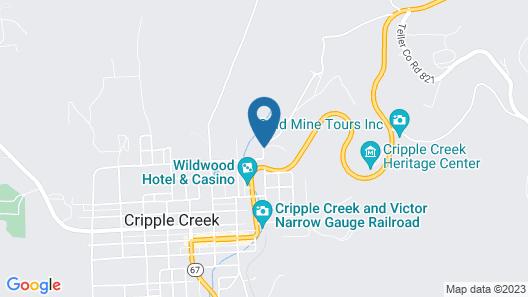 Gold King Mountain Inn Map