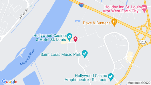 Hollywood Casino & Hotel St. Louis Map