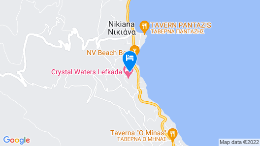 Crystal Waters Map