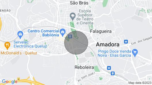Cozy Apartment in Amadora Map