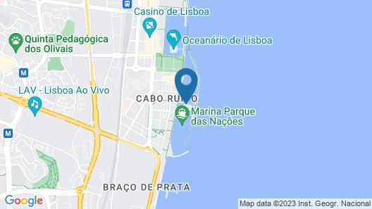 Tagus Marina - Houseboat Map