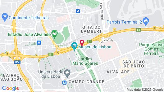 Radisson Blu Hotel Map