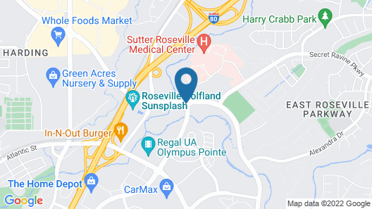 Holiday Inn Express Hotel & Suites Roseville-Galleria Area, an IHG Hotel Map