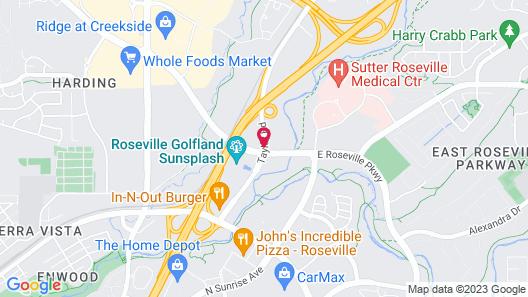 Fairfield Inn by Marriott Roseville Map
