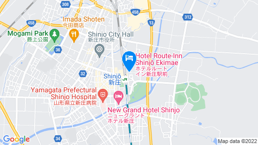 Hotel Route-Inn Shinjyo Ekimae Map