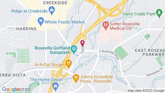 Larkspur Landing Roseville - An All-Suite Hotel Map