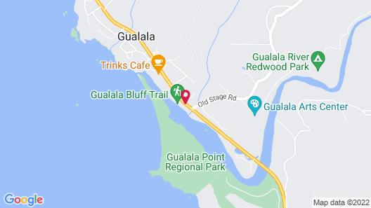 Gualala Country Inn Map