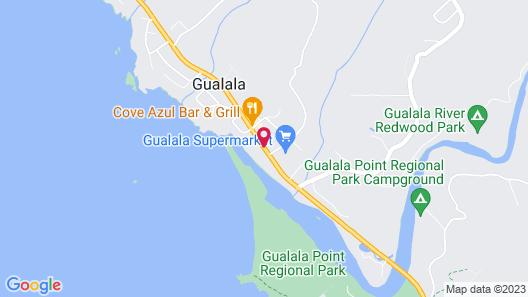Surf Inn Map